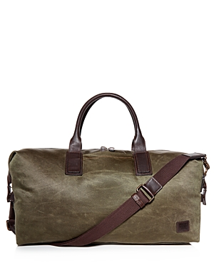 Frye Carter Waxed Canvas Weekender Duffel