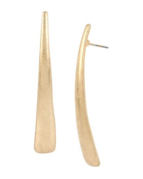 Robert Lee Morris Soho - Geometric Tapered Drop Earrings