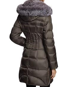 Dawn Levy - Cloe Saga Fur Trim Mid-Length Down Coat