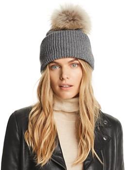 Inverni - Balabella Fur Pom-Pom Convertible Beanie