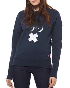 Moose Knuckles - X Mark Cotton Fleece Sweatshirt