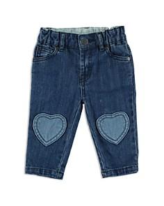 Stella McCartney - Girls' Heart Knee Patch Jeans - Baby