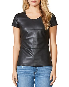 d4c81966140b0 Bailey 44 - Hardy Faux Leather-Front Top ...