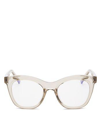 The Book Club - Women's Harlot's Bed Cat Eye Blue Light Glasses, 54mm
