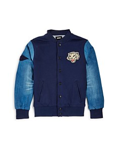 True Religion Boys' Tiger Appliqué Knit Baseball Jacket - Big Kid - Bloomingdale's_0