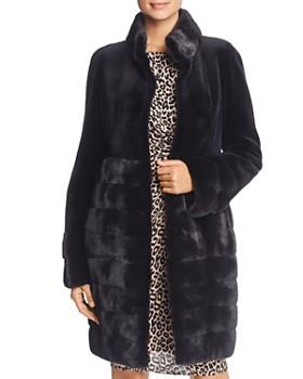 Maximilian Furs - Sheared Kopenhagen Mink Fur Coat - 100% Exclusive ... 976d257ae