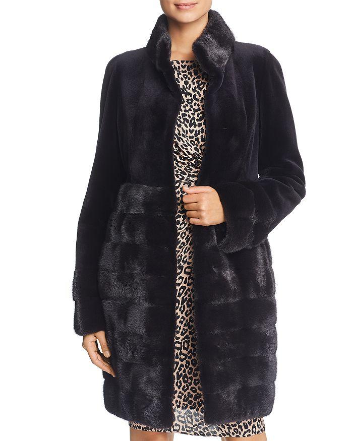 Maximilian Furs - Sheared Kopenhagen Mink Fur Coat - 100% Exclusive