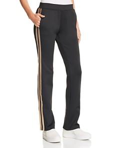 PAM & GELA - Metallic-Stripe Track Pants
