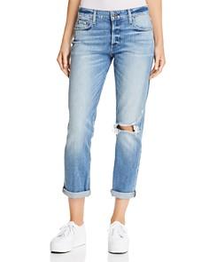 PAIGE - Brigitte Boyfriend Jeans in Brookview Destructed