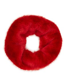 Heurueh - Twist Faux Fur Infinity Scarf