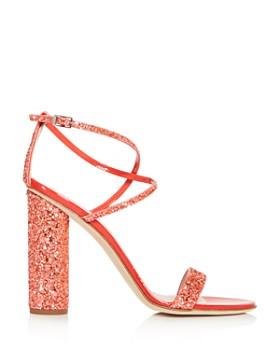 Giuseppe Zanotti - Women's Svamp Glitter Crisscross High-Heel Sandals