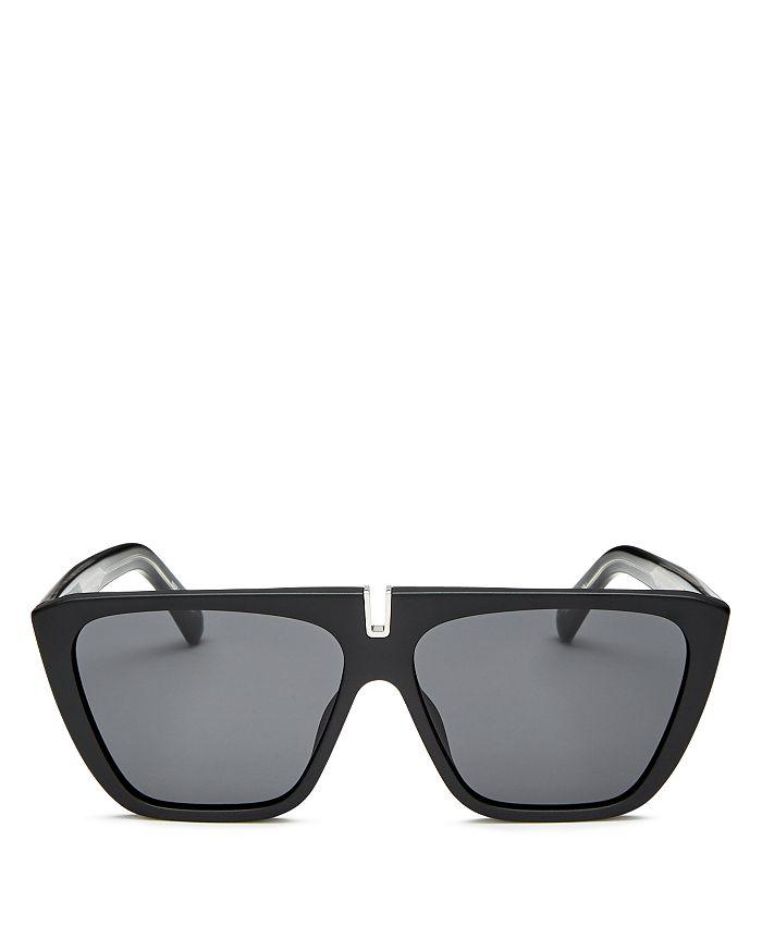 3c7c8186fd Givenchy Men's Flat Top Square Sunglasses, 58mm | Bloomingdale's