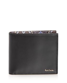 76b0c250e10 TRIPLE POINTS FOR LOYALLISTS IN MEN S. Paul Smith - Kaleidoscope Print  Leather Bi-Fold Wallet ...
