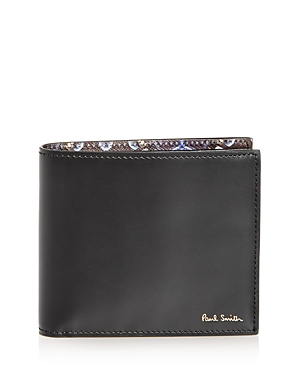Paul Smith Kaleidoscope Print Leather Bi-Fold Wallet