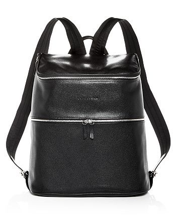Longchamp Le Foulonné Extra Large Leather Backpack | Bloomingdale's