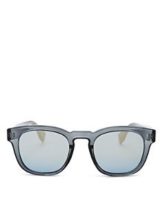 Le Specs - Men's Block Party Mirrored Square Sunglasses, 47mm
