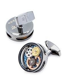 Tateossian - Gear Carbon Cufflinks