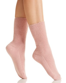 C by Bloomingdale's - Cashmere Cozy Socks - 100% Exclusive