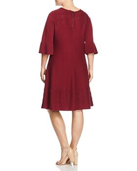 NIC and ZOE Plus - Mesh-Inset Dress