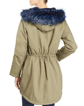 Kenneth Cole - Faux-Fur Trimmed Anorak