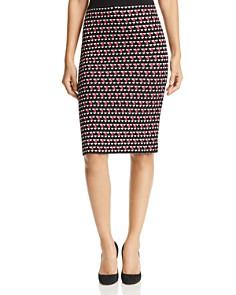 BOSS - Estane Geo-Print Knit Skirt