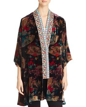c9a82f9cff1 Johnny Was - Fusai Velvet Kimono ...