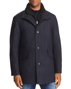 BOSS - Coxtan Herringbone Wool Coat - 100% Exclusive
