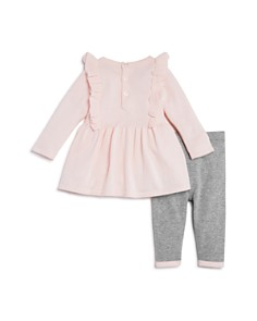 Bloomie's - Girls' Ruffled Sweater Tunic & Knit Leggings Set, Baby - 100% Exclusive