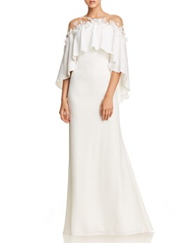 Tadashi Shoji - Illusion Crepe Dress