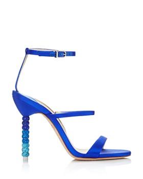 Sophia Webster - Women's Rosalind Crystal Satin High-Heel Sandals