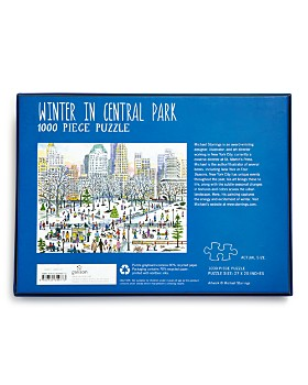 Michael Storrings - Winter in Central Park 1000 Piece Puzzle