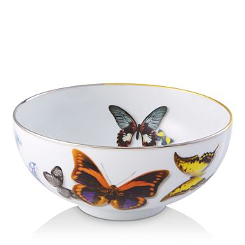 Vista Alegre - Butterfly Parade by Christian Lacroix Soup Bowl