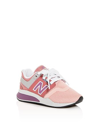 New Balance Girls' 247 Low Top Sneakers Toddler, Little