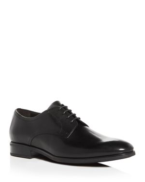 TO BOOT NEW YORK Men'S Dwight Leather Plain Toe Oxfords in Black Leather