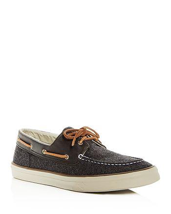 824c399368f Sperry - Men s Bahama II Wool   Leather Boat Shoes