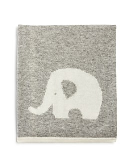 Bloomie's - Unisex Cashmere Elephant Blanket, Baby - 100% Exclusive