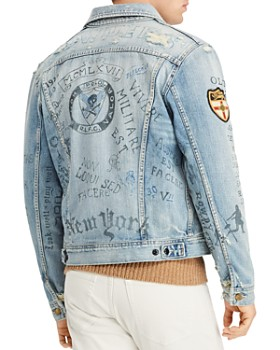 Polo Ralph Lauren - Distressed Trucker Denim Jacket