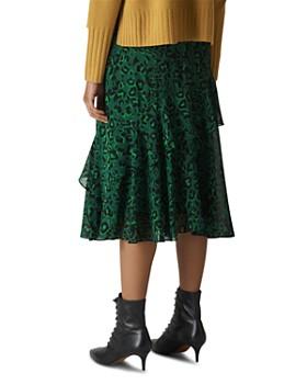 Whistles - Animal Print Midi Skirt