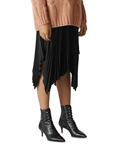Whistles - Pleated Midi Skirt