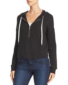 ca5236c10a44 n philanthropy - Vienna Waffle-Knit Hooded Sweatshirt ...
