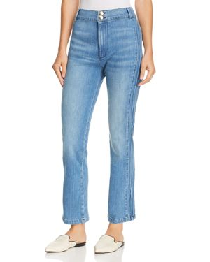 Frame Parisian Straight-Leg Denim Pants