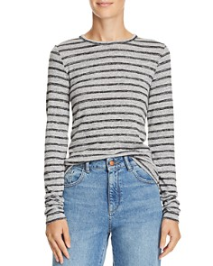 rag & bone/JEAN - Directional Striped Tee