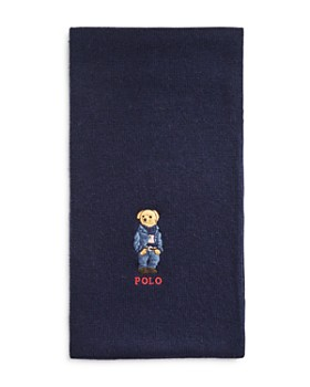 Polo Ralph Lauren - Embroidered Bear Scarf