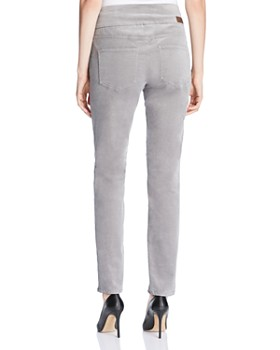 JAG Jeans - Nora Skinny Corduroy Pants in Alloy