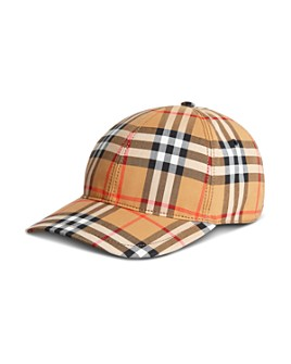 Burberry - Vintage Check Baseball Cap