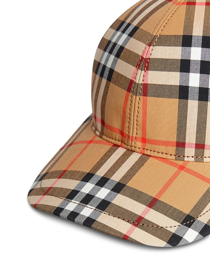 aa134589f9 Burberry - Vintage Check Baseball Cap