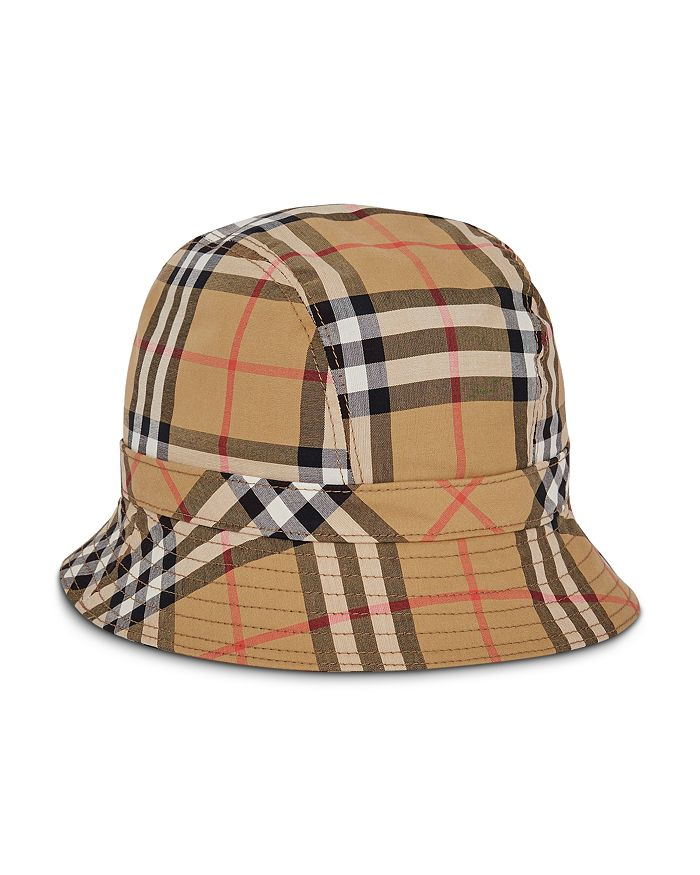 27abad1352503 Burberry - Rainbow Check Bucket Hat