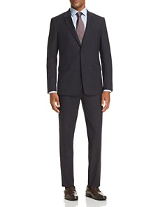Theory - Tonal Textured-Check Slim Fit Suit Separates