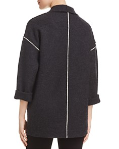 Eileen Fisher - Wool Shawl-Collar Jacket - 100% Exclusive