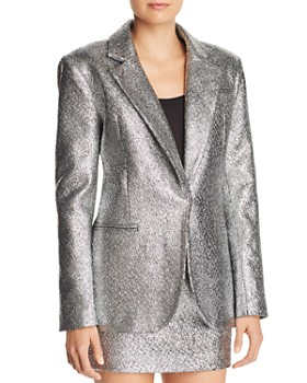MILLY - Eva Metallic Blazer
